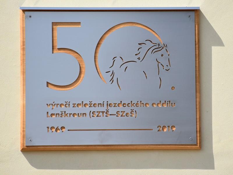 Lanškroun - 50. výročí založení jezdeckého oddílu