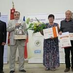 Oranžová stuha – za spolupráci obce a zemědělského subjektu – obec Chvojenec