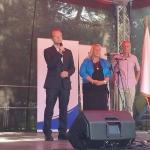 hejtman Martin Netolický při zahájení slavnostního dne na Veselém Kopci