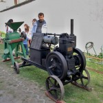 historické zemědělské stroje