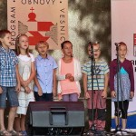 kulturní vystoupení dětí z Trhové Kamenice